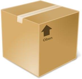 Kartong, paket