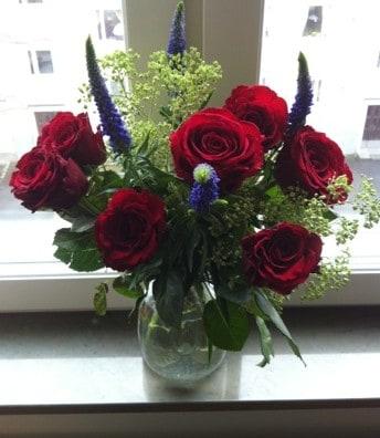 Blommor, bukett, rosor