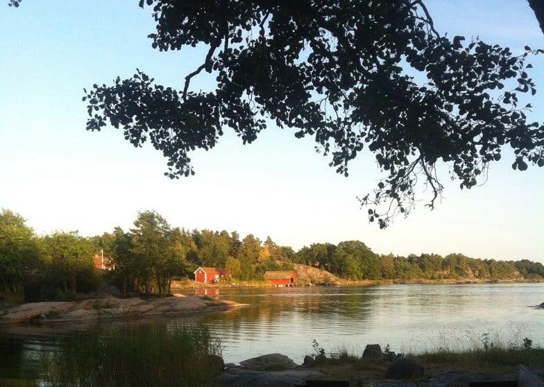 Utsikt från Stendörrens naturreservat