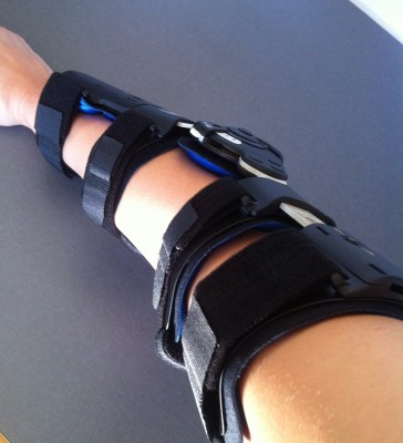 Ortos för armbågar, min robotarm.