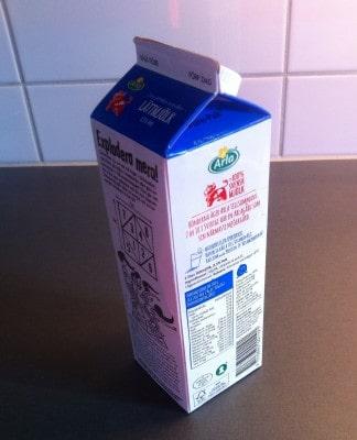 Mjölk, mjölkpaket