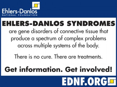 EDS awareness month, Ehlers-Danlos syndrom