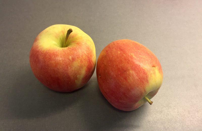 Äpplen, frukt