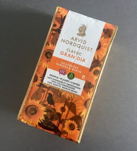 Ett paket Kaffe, Arvid Nordquist