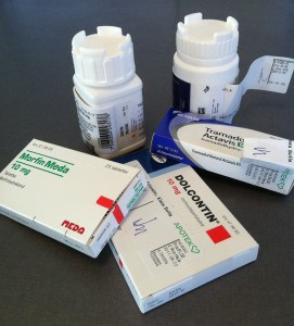 medicin mot smärta, dolcontin, morfin, tramadol, alvedon. Sorg