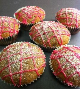 Pepparkaksmuffins. Uteblivet besök - inga muffins.