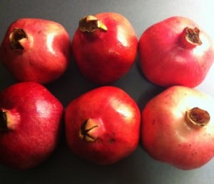 Granatäpplen, pomegranate