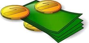 Pengar, mynt och sedlar. Svenska miljonärer
