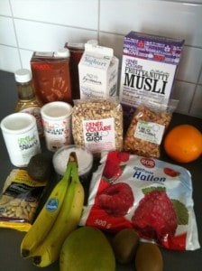 Frukostkasse från Mathem