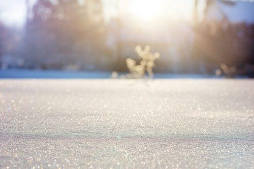 Snö, kallt