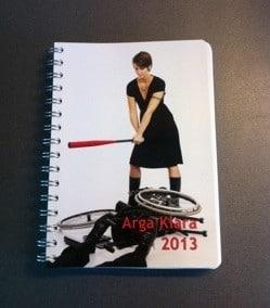 Arga Klaras kalender från personligalmanacka.se