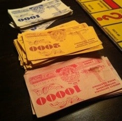 Gamla monopolpengar