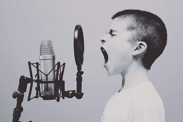 Pojke sjunger