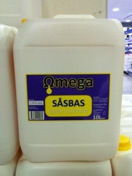 Omega såsbas. Är det sånt de ger till rapsgris?