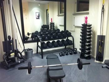 Gym och fria vikter