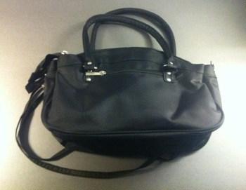 Svart handväska. Ny väska