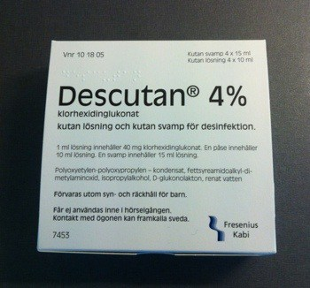 Descutan inför operation
