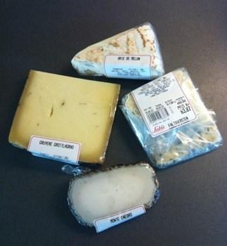 Ost, flera olika ostar, mögelost