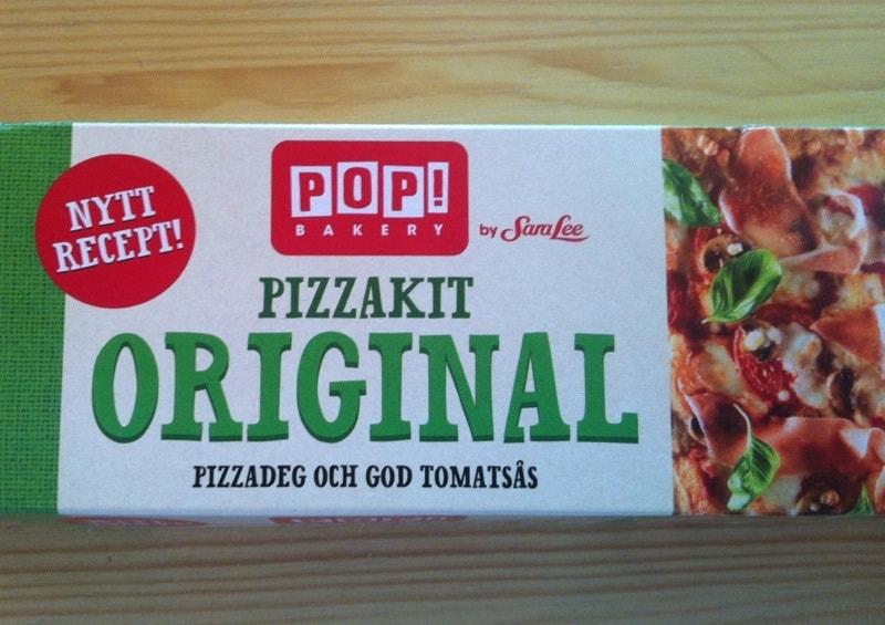 Pop! Bakery by Sara Lee pizzakit