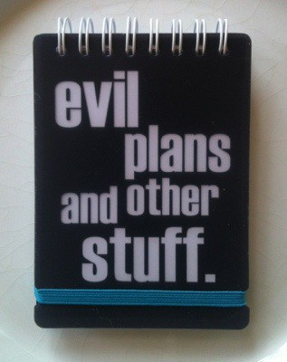 "Anteckningsblock från Lagerhaus: ""Evil plans and other stuff"". Veckans plus"