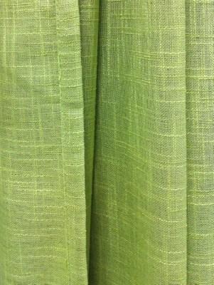 En billig renovering, en grön gardin från Chilli