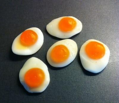 Stekta ägg. Nyttigt och gott!