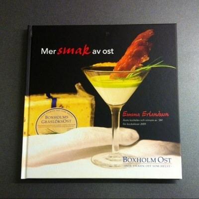 Mer smak av ost från Boxholms ost. Tävling hos Arga Klara, vinn receptbok.