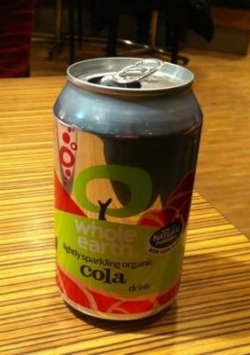 Cola-dryck marknadsförd av Kung Markatta
