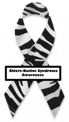 Ehlers Danlos Syndrom band, stöd de med EDS. EDS Ribbon