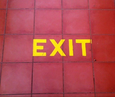 Exit-skylt
