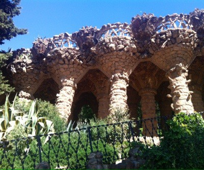 Gaudís Park Güell i Barcelona