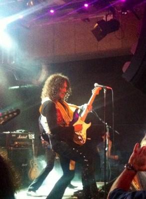 Electric Boys, Conny Bloom på Solidaritet Arena efter Aerosmiths konsert
