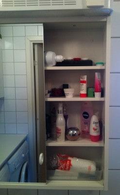 Mitt badrumsskåp