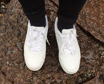 Vita skor, gympaskor