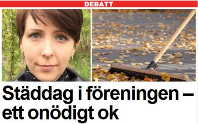 Arga Klara i Expressen debatt. Året som gått.