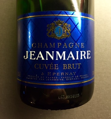Champagne till nyårsfest. Jeanmarie Cuvée Brut