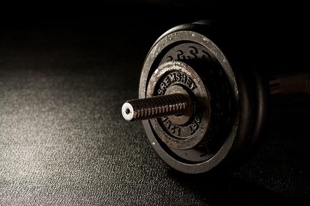 Hantlar, träna