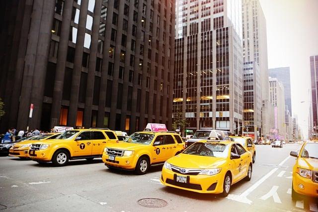 Taxibilar i New York