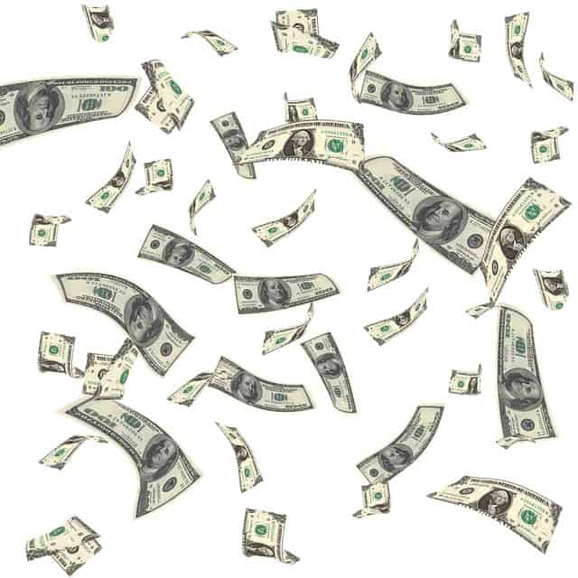 Det regnar pengar