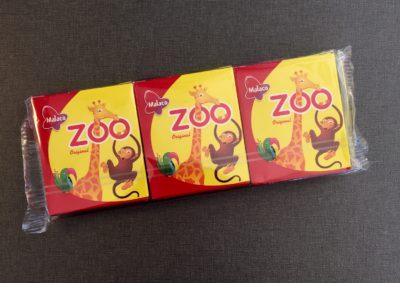 Zoo tablettaskar i present av R. Min födelsedag var en lugn tillställning.