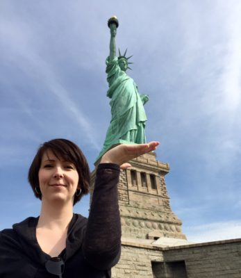 Frihetsgudinnan i New York, Arga Klara