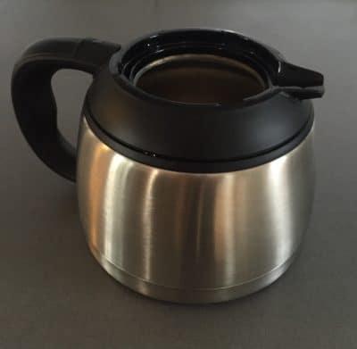 Okrossbar kaffekanna till kaffebryggare, termoskanna
