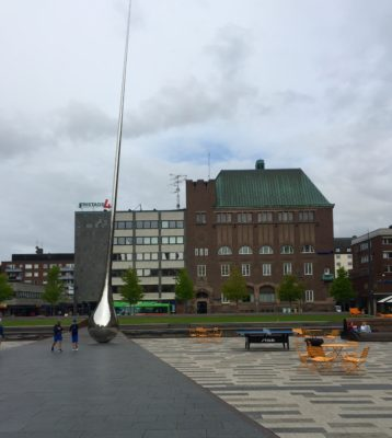 Eskilstuna centrum, torget och Pin point