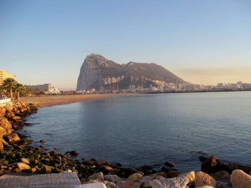 The Gibraltar rock