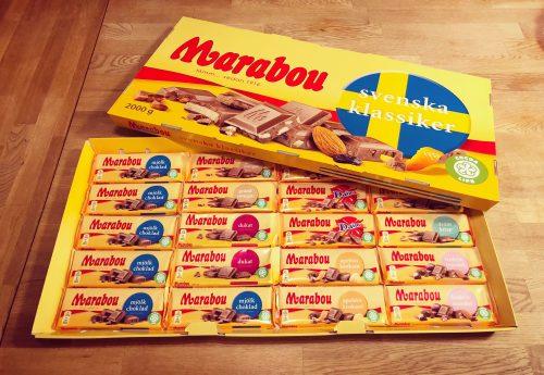 Marabou choklad. Jättestor chockladkaka, vinst från Liseberg. Vinna första pris!