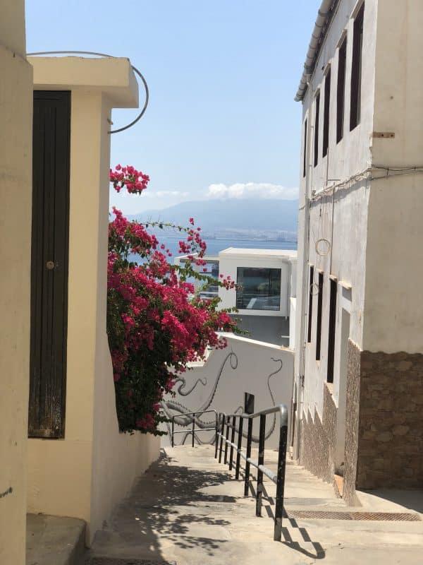 Utsikt över Gamla stan i Gibraltar