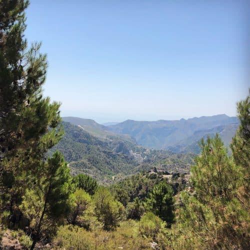 Sierra Nevada i Spanien