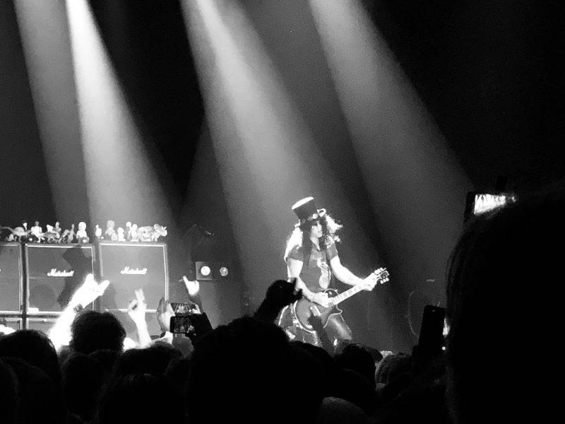 Slash på Annexet i Annexet, Stockholm mars 2019. Går på många konserter!