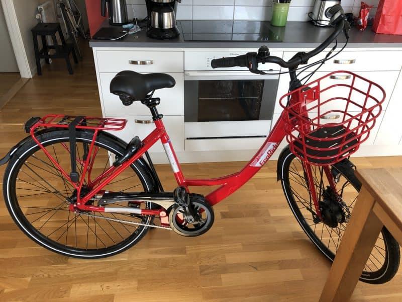 Röd elcykel, Ecoride Ambassador